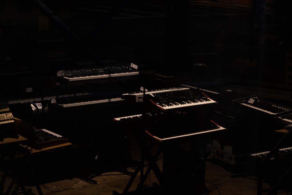 The white keys and the black keys
