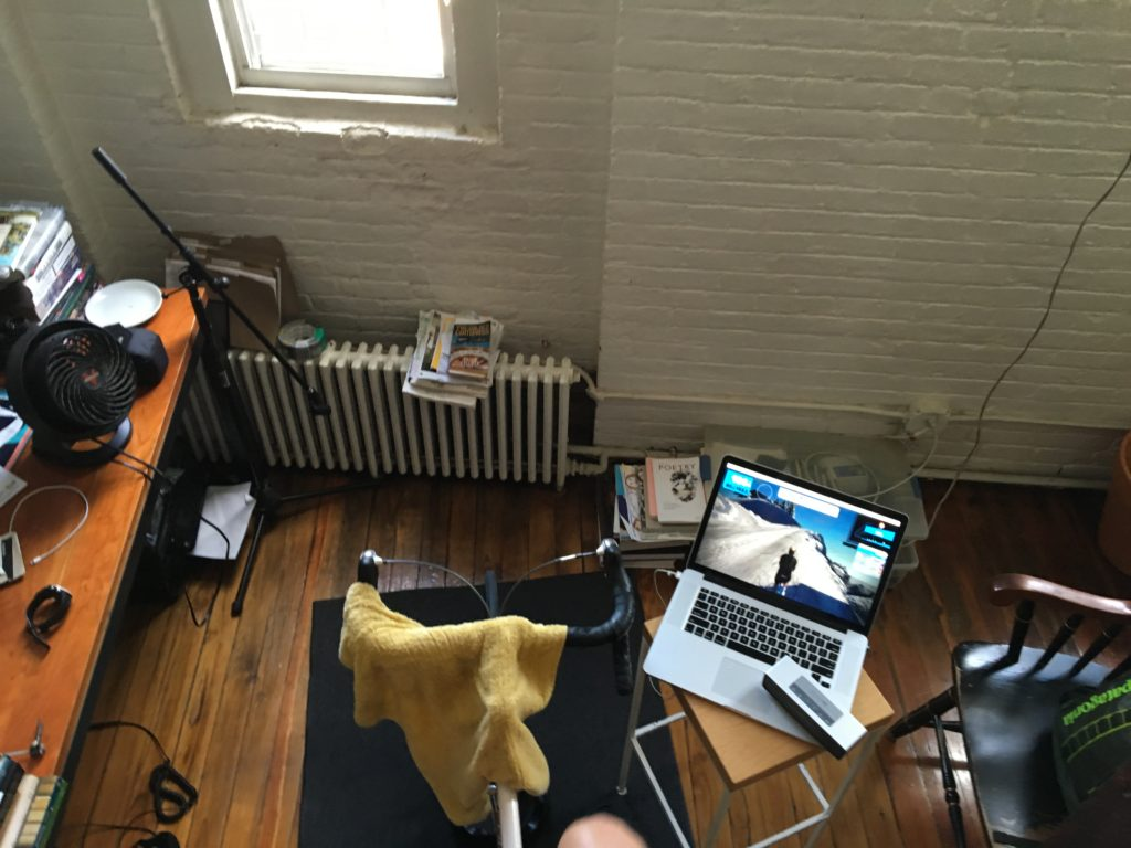 the sweat hog's pain cave